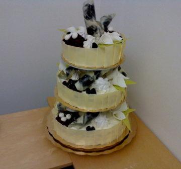 Bröllopstårta - Maräng