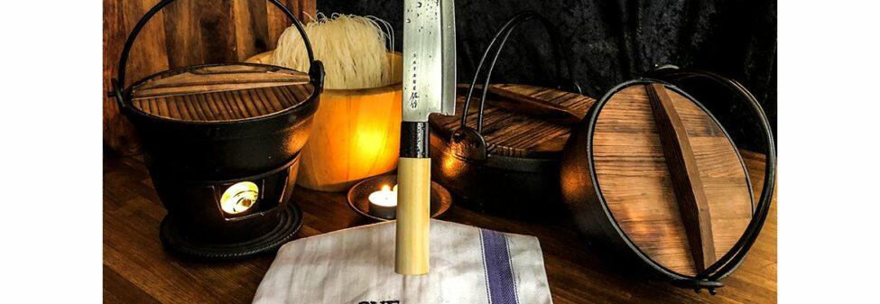 Satake Houcho Santoku/kockkniv 17 cm
